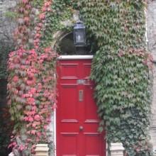 Autumn door